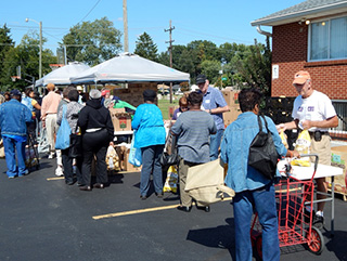 LSS-MFOB Food Giveaway at Redeemer lutheran church, 1555 S. James Road, Columbus, Ohio 43227