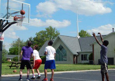 Basketball Courts at Redeemer Lutheran Church