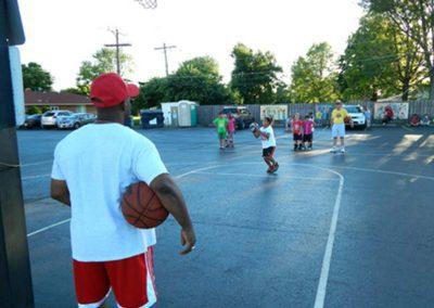 Basketball Camp at Redeemer Lutheran Church