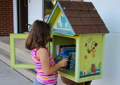 Little Free Library at Redeemer Lutheran Church