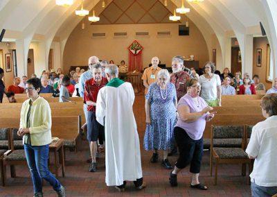 Communion at Redeemer Lutheran Church