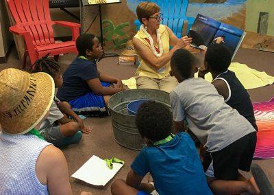 Vacation Bible School Storytelling at Redeemer Lutheran Church