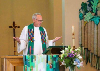 Worship Service at Redeemer Lutheran Church