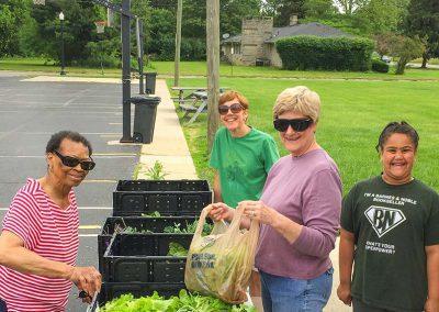 Garden Giveaway at Redeemer Lutheran Church