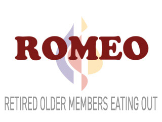 Romeo (Retired Older Members Eating Out) a social group at Redeemer lutheran church, 1555 S. James Road, Columbus, Ohio 43227